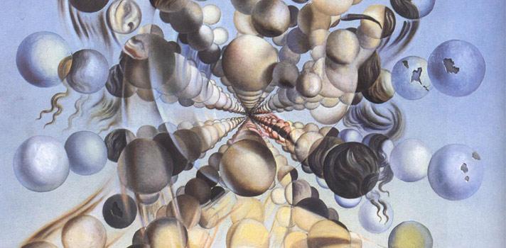 Arte do Dia: Galatea das Esferas de Salvador Dalí