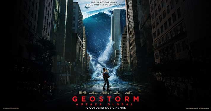 Passatempo Universia Geostorm - Ameaça Global, ganha convites duplos para as antestreias em IMAX para Lisboa e Porto