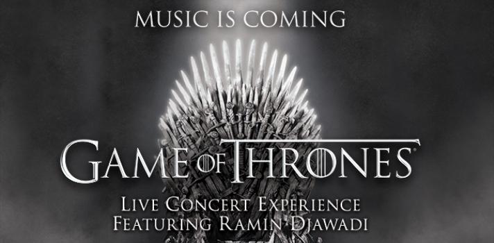 Game of Thrones: Live Concert Experience llega a España