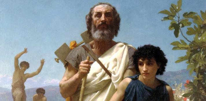 Arte do Dia: Homero e o Seu Guia de William-Adolphe Bouguereau