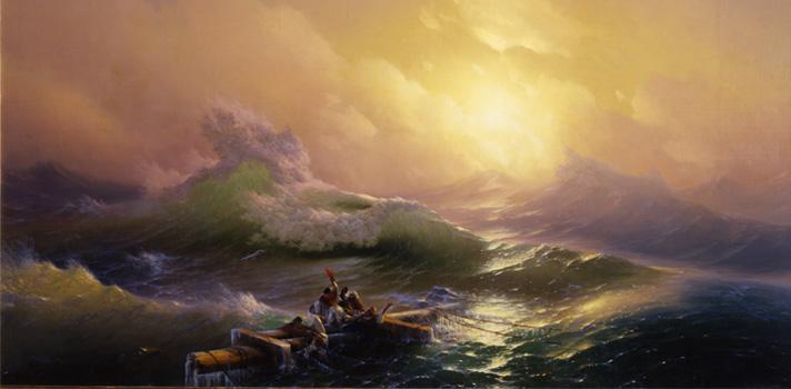 Arte do Dia: A Nona Onda de Hovhannes Aivazovsky