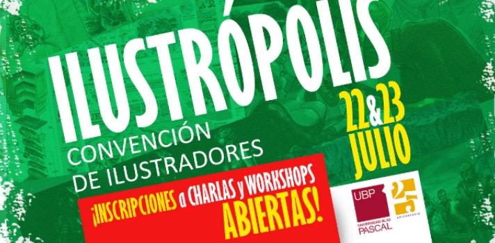 """<p>El <strong>22 y 23 de julio</strong> se llevará a cabo la tercera edición de """"<strong>Ilustrópolis</strong>"""", la convención que reúne a <strong>artistas y aficionados del campo de la ilustración</strong> para compartir experiencias sobre la labor del dibujante y el diseñador.<br/><br/><strong></strong></p><p><strong>Lee también</strong><br/><a href=https://noticias.universia.com.ar/educacion/noticia/2015/10/28/1132983/7-cursos-online-gratuitos-diseno-grafico.html title=7 cursos online gratuitos de diseño gráfico target=_blank>7 cursos online gratuitos de diseño gráfico</a><br/><br/></p><p>El evento tendrá lugar en el campus de la <a href=https://www.ubp.edu.ar title=sitio web Universidad Blas Pascal target=_blank>Universidad Blas Pascal</a>, en la provincia de Córdoba, y durante las jornadas se ofrecerán <strong>charlas gratuitas y abiertas a todo el público</strong>. Asimismo, habrá stands vinculados a temas de arte, se exhibirán ilustraciones y los participantes podrán pintar un mural que estará a la vista de todos.</p><p>La <strong>exhibición de ilustraciones</strong> se realizará a partir de una selección que hará el equipo de Ilustrópolis de las 10 mejores obras presentadas. Esta convocatoria de talentos artísticos cierra el 15 de julio, así que te interesa, sentate ya a dibujar y no pierdas la oportunidad de participar en Ilustrópolis 2016.</p><p>También se realizarán <strong>workshops</strong>, donde los especialistas trabajarán y abordarán diferentes temáticas de manera práctica e intensiva. Estos talleres tendrán una duración de 4 horas y los cupos son limitados.</p><p>El objetivo de este encuentro es aprender un poco más sobre el terreno de la <strong>ilustración</strong> y sus múltiples ramas: <strong>publicidad, cómics, cine, videojuegos, libros y animación</strong>. Para ello, se contará con la presencia de destacados artistas y expertos en la materia provenientes de todo el país.</p><p>Entre los <strong>especialistas</strong> que estarán presentes s"""