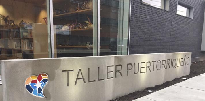 Taller Puertorriqueño en Filadelfia, entidad con la cual la Universidad Interamericana de Puerto Rico logró un acuerdo de colaboración.