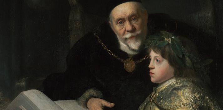 Arte do Dia: Príncipe Charles Louis com seu Tutor de Jan Lievens