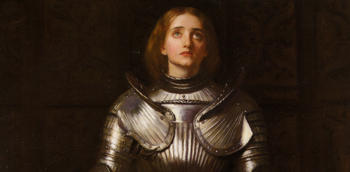 Arte do Dia: Joana D'Arc de Everett Millais