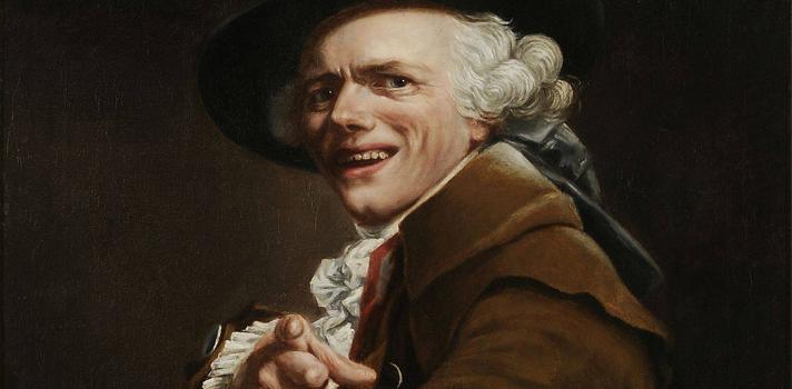 Arte do Dia: Autorretrato de Joseph Ducreux