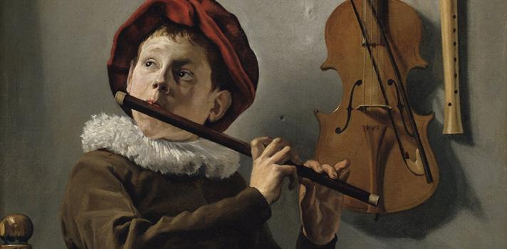 Arte do Dia: Menino com Flauta de Judith Leyster