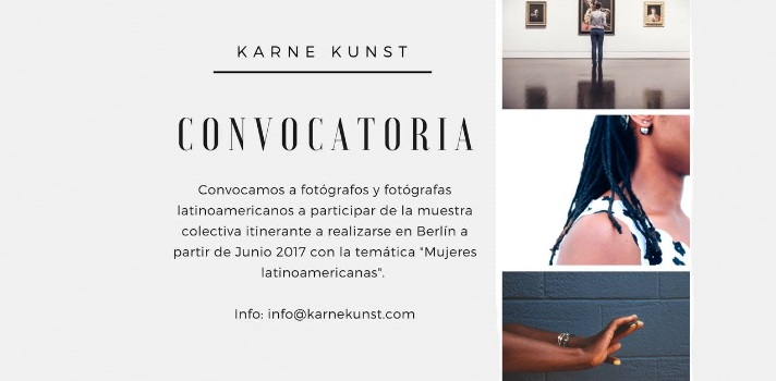 Convocatoria para fotógrafos latinoamericanos