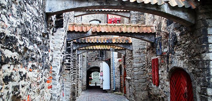 Katariinakaik Streetin Old Tallinn