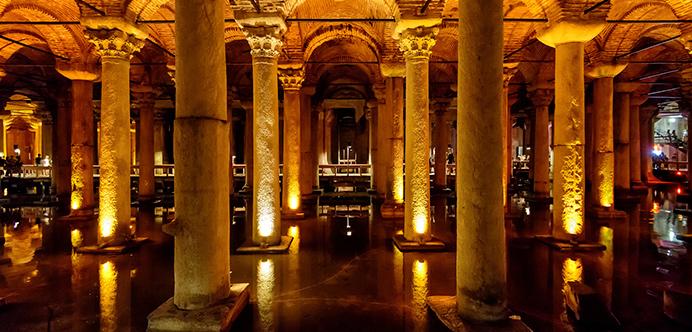 La Cisterna Basílica, Estambul