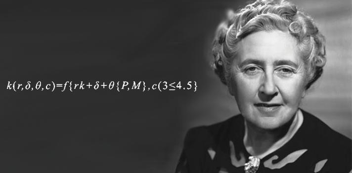 La ecuación es infalible en la resolución de los libros de la autora británica.