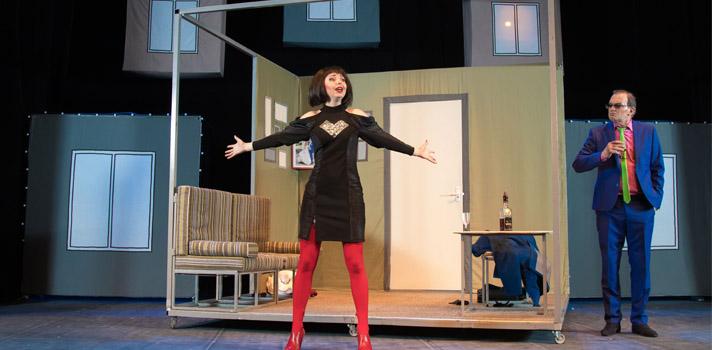 El teatro permite la libre expresión de las ideas y emociones