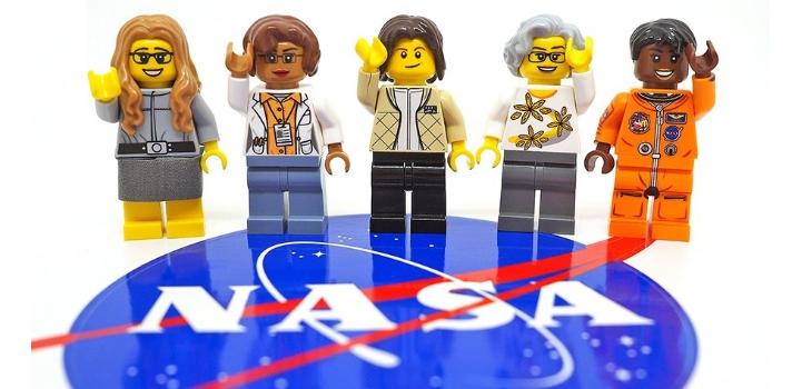 5 destacadas mujeres de la NASA tendrán sus propios LEGO