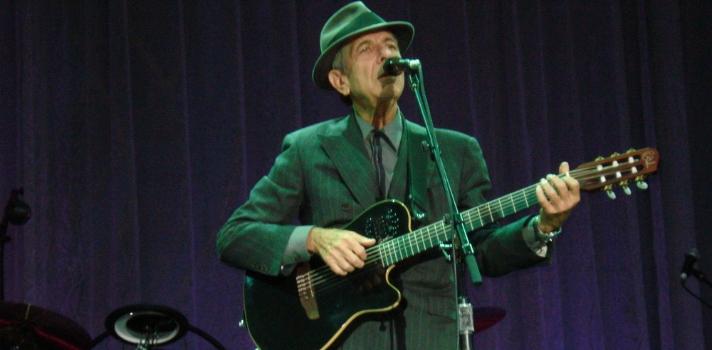 Las 10 mejores canciones de Leonard Cohen