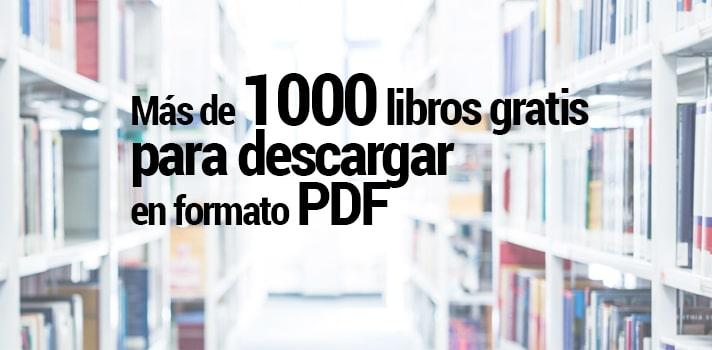 Los mejores sitios para descargar libros pdf gratis