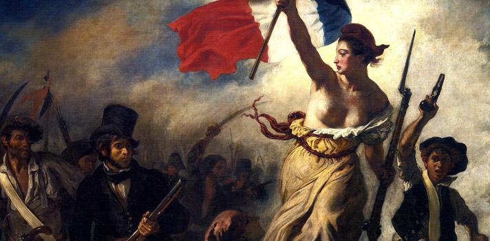 Arte do Dia: A Liberdade Guiando o Povo de Eugène Delacroix