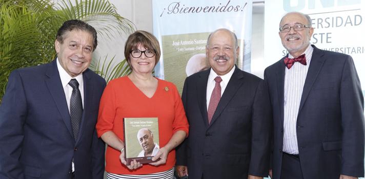 Se presentó el libro sobre la biografía de José Antonio Santana Mendoza