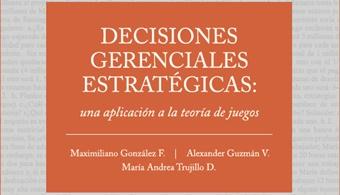 """<p style=text-align: justify;>La teoría de juegos es el estudio económico de las intersecciones estratégicas entre dos o más individuos racionales. Este es el tema que aborda el libro """"Decisiones Gerenciales Estratégicas, una aplicación a la Teoría de Juegos"""", escrito por Maximiliano González, Alexander Guzmán y María Andrea Trujillo, bajo el sello editorial CESA.</p><p style=text-align: justify;></p><p style=text-align: justify;>Este libro, a diferencia de otros que tratan el mismo tema, busca<strong> desarrollar desde el principio la teoría de juegos de la forma más intuitiva posible.</strong> Al utilizar ejemplos del mundo real, deja a un lado los tecnicismos matemáticos, y permite que cualquier persona, independientemente de su formación matemática, pueda leerlo con facilidad.</p><p style=text-align: justify;></p><p style=text-align: justify;></p><p style=text-align: justify;>Los autores escribieron el libro con la idea que las<strong> teorías económicas son importantes en la medida en que puedan ser usadas </strong>efectivamente en la práctica.</p><p style=text-align: justify;></p><p style=text-align: justify;>Cada uno de los<strong> siete capítulos muestra aplicaciones de los conceptos aprendidos </strong>y al final se proponen algunos problemas resueltos. De este modo el estudiante no sólo aplica los conceptos aprendidos a situaciones del mundo gerencial, sino que también está capacitado para resolver ejercicios y puede entender los conceptos.</p><p style=text-align: justify;></p><p style=text-align: justify;>El libro termina con diez """"minicasos"""" de estudio que sirven para afianzar los conceptos aprendidos mediante el análisis de problemas más complejos. A su vez consigue que el lector se sienta incentivado para abordar sus propios problemas, mediante la utilización de la teoría de juegos como ayuda conceptual.</p><p style=text-align: justify;></p><p style=text-align: justify;>Este libro sale al mercado bajo el sello editorial CESA y se puede conseguir a trav"""