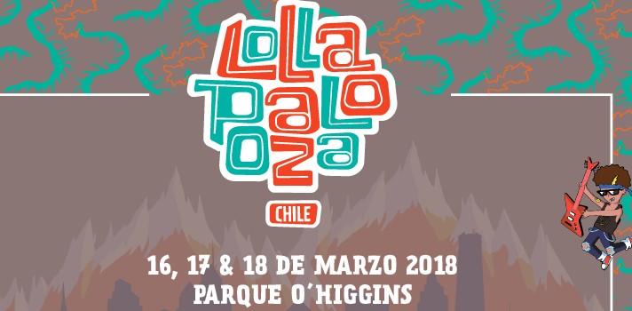 Lollapalooza Chile anunció su octava edición para marzo de 2018