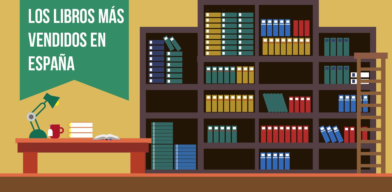 Los 10 libros más vendidos en España