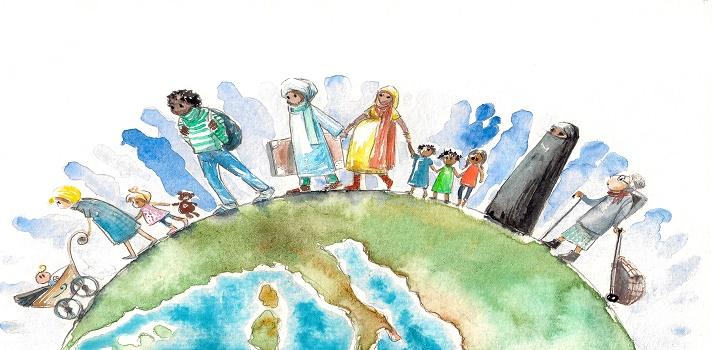 El 88,4 % de las personas que viven en los Emiratos Árabes Unidos son inmigrantes.