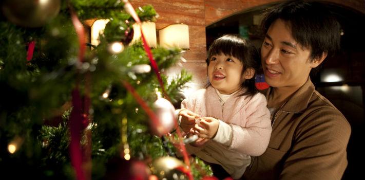 Aunque no sea fiesta nacional, cada vez más japoneses decoran sus hogares en Navidad