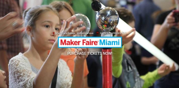 Llega una nueva edición de la Maker Faire Miami.