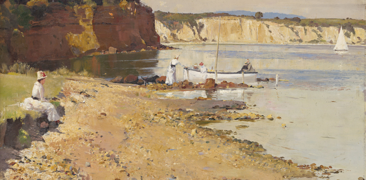 Arte do Dia: Mar de Assombro de Tom Roberts