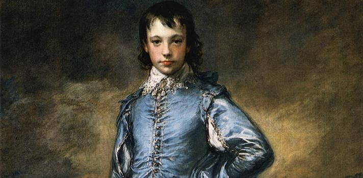 Arte do Dia: Menino Azul de Thomas Gainsborough