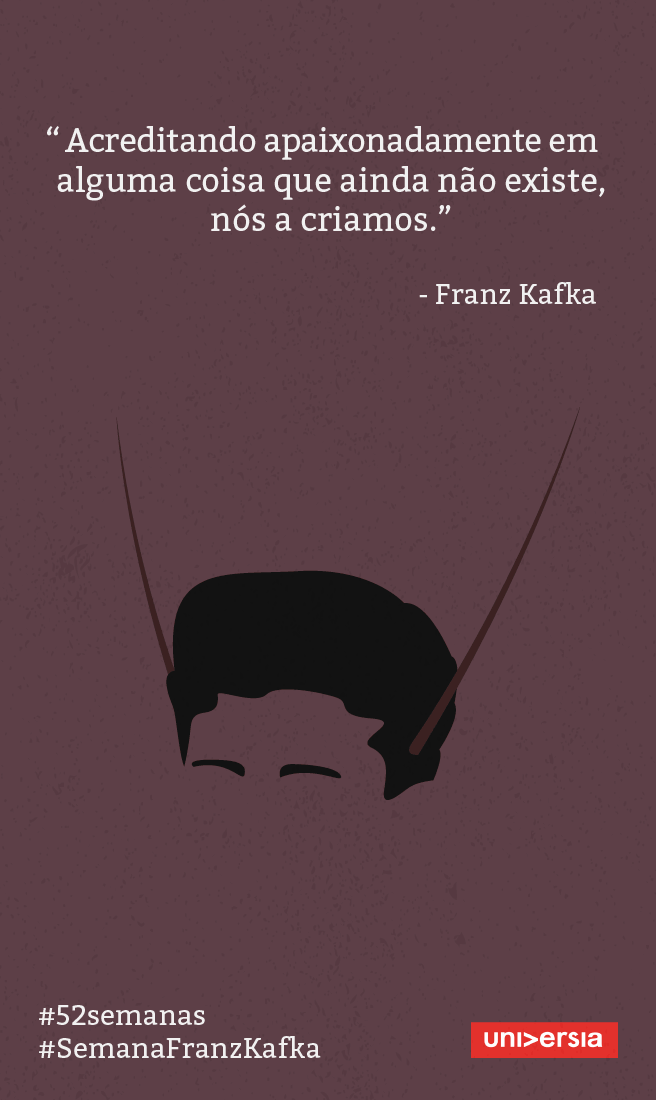 Aprenda Lições De Vida Com 5 Frases De Franz Kafka