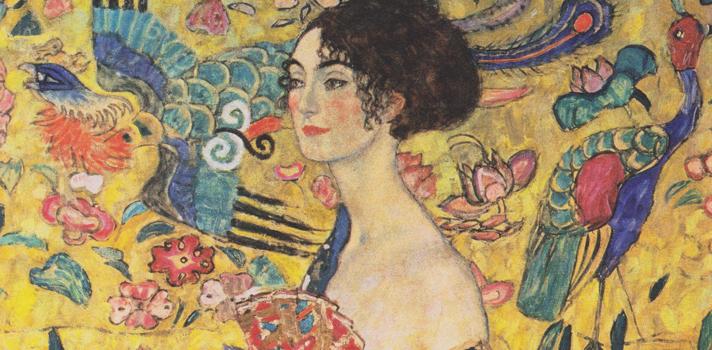 Arte do Dia: Moça com Leque de Gustav Klimt