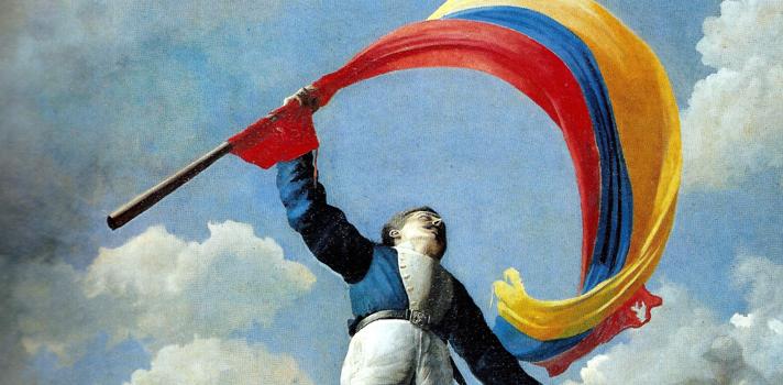 Arte do Dia: A Morte de Girardot de Cristobal Rojas