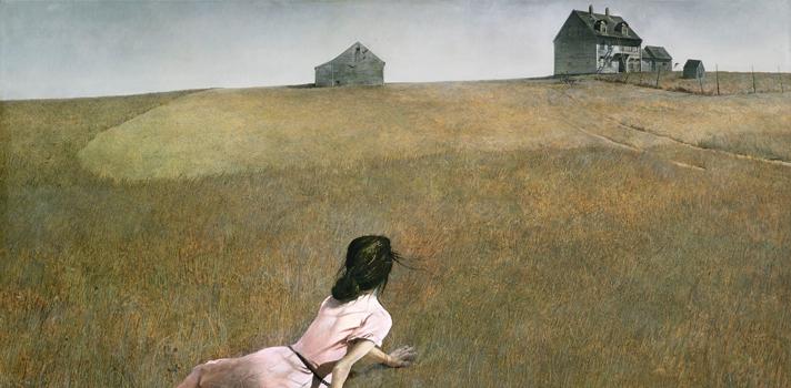 Arte do Dia: O Mundo de Cristina de Andrew Wyeth