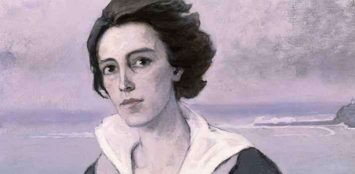 Arte do Dia: No Litoral de Romaine Brooks