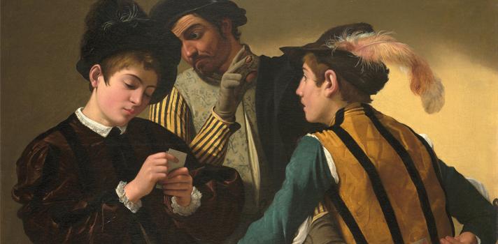Arte do Dia: Os Trapaceiros de Caravaggio