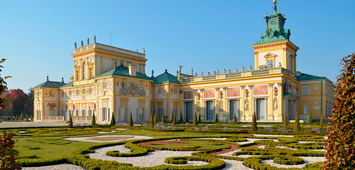 Palacio de Wilanów, Varsovia