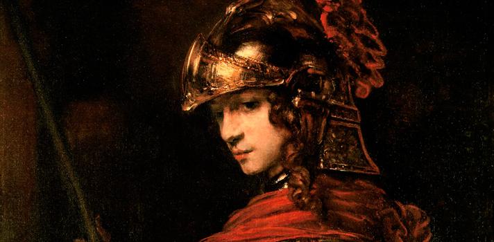 Arte do Dia: Pallas Athena de Rembrandt