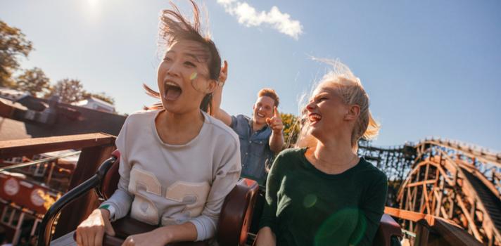 Disfruta de la adrenalina en el Parque de Atracciones gracias a tu cuenta 123 Smart