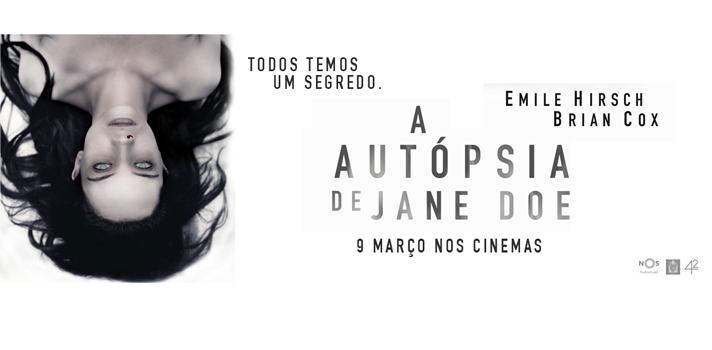Passatempo Universia NOS Audiovisuais A Autópsia de Jane Doe