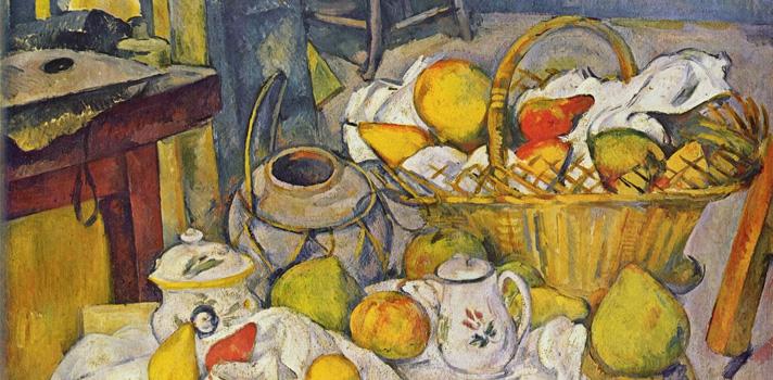 Arte do Dia: Mesa da Cozinha de Paul Cézanne