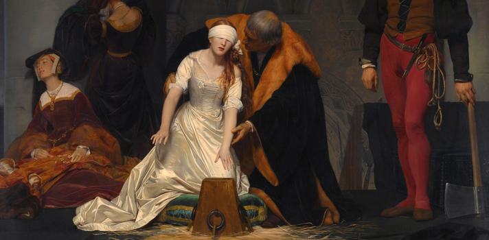 Arte do Dia: Execução de Lady Jane Grey de Paul Delaroche
