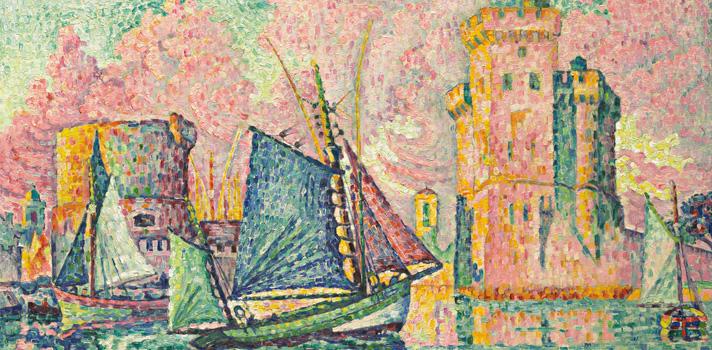 Arte do Dia: Entrada do Barco de Atum em La Rochelle de Paul Signac