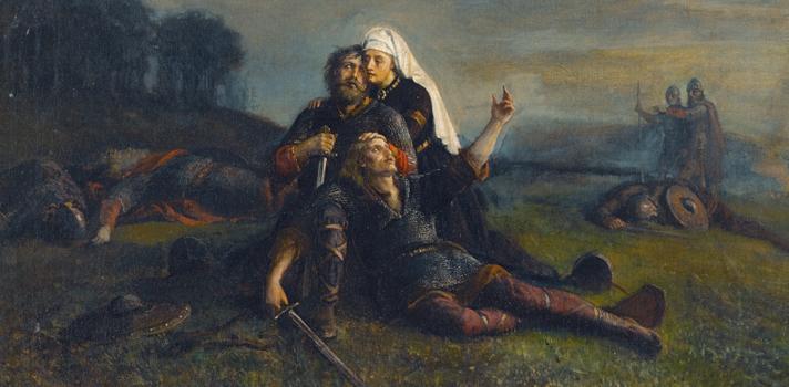 Arte do Dia: Depois da Batalha de Peter Nicolai Arbo