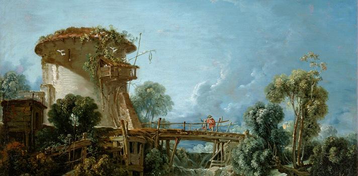 Arte do Dia: O Pombal de François Boucher