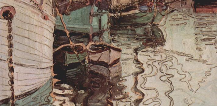 Arte do Dia: Porto de Trieste de Egon Schiele