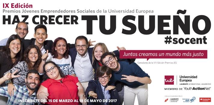 La Universidad Europea premiará el talento emprendedor.