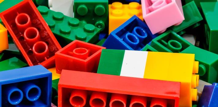 Las clásicas piezas de colores son reconocidas en el mundo entero