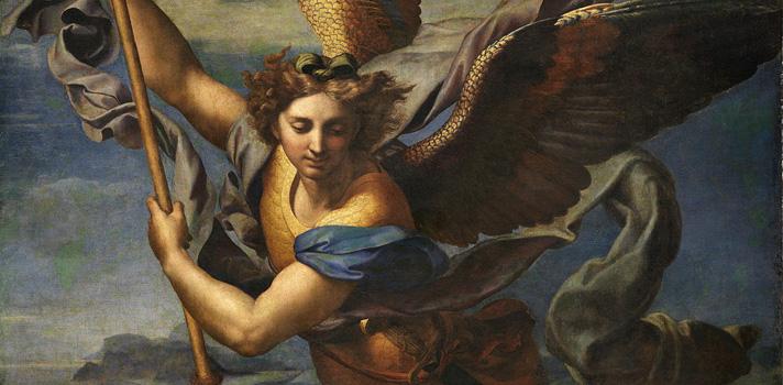 Arte do Dia: São Miguel Derrota Satanás de Rafael