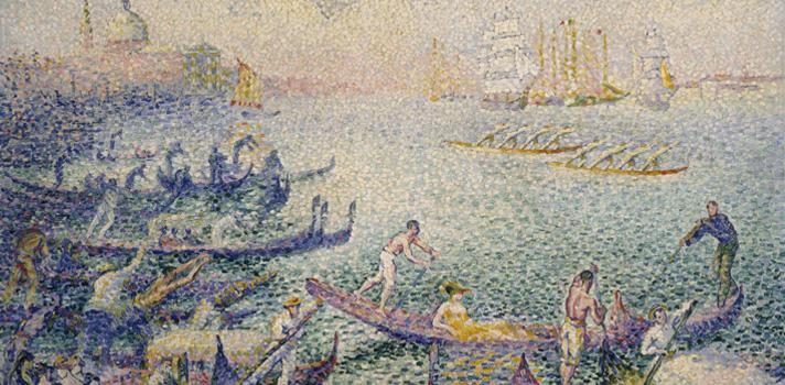 Arte do Dia: Regatta em Veneza de Henri Edmond Cross
