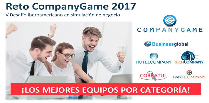Los mejores equipos del Reto CompanyGame 2017 compiten por convertirse en el Campeón.
